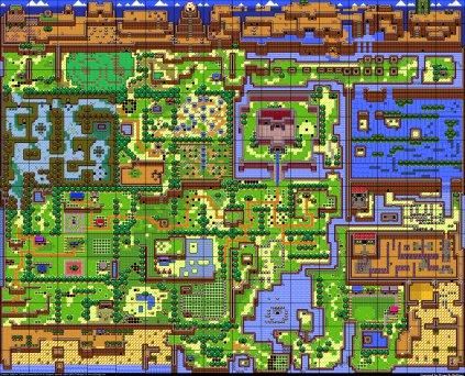 Worms Map Database Maps Legend Of Zelda Link S