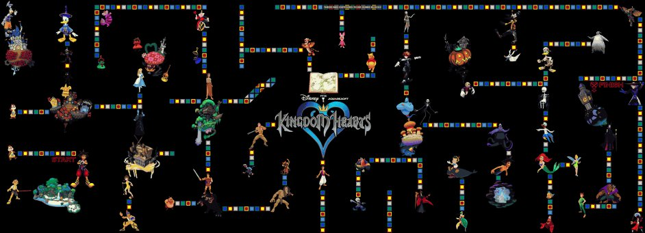 Worms Map Database - Maps - Kingdom Hearts